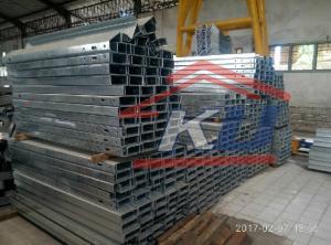 Pengaman Besi Baja Galvanis Hotdeep Panjang 4320mm