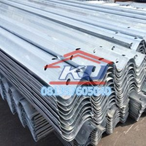 Harga Guardrail Jalan Per Meter Murah Ready Stock Tebal Post 4,5 mm