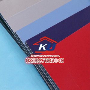 COATING WARNA 0,3 DAN 0,5 MM ACP SEVEN TEBAL 4MM