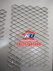 FF 3035 Expanded Metal Aman Untuk Pintu Rumah Ready Lembaran