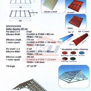 Atap metal murah