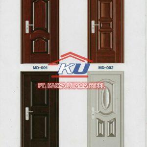 Jual Pintu Baja (Steel Door) Termurah Surabaya
