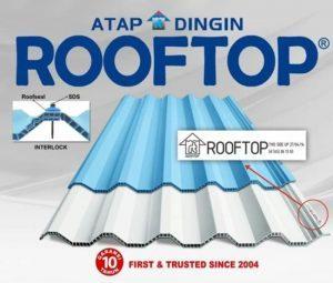 Alasan Menggunakan Atap Dingin Merk Rooftop