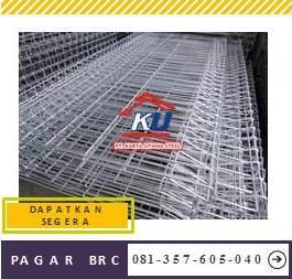 Distributor Pagar BRC Anti Karat Murah di Sidoarjo Diameter 8 mm