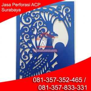 Jasa Pemotongan ACP Motif Cutstom Harga Murah Surabaya